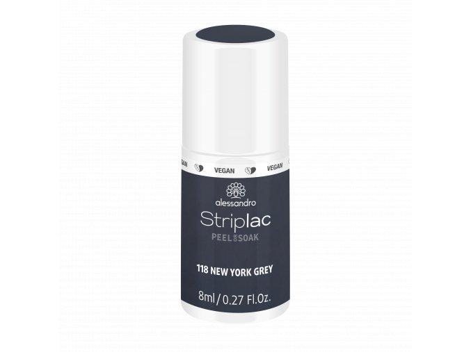 48 118 Striplac 2.0 NewYorkGrey Fake 8ml