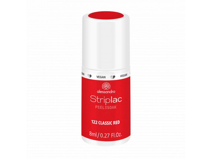 48 122 Striplac PeelOrSoak ClassicRed 8ml FAKE