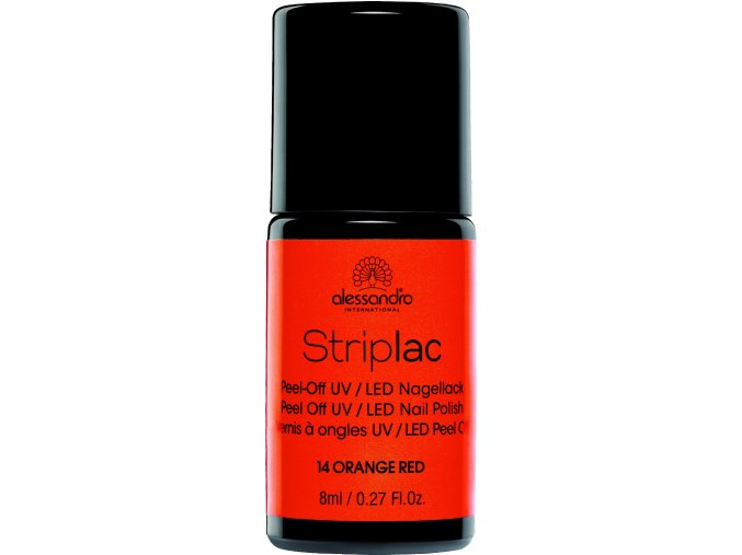 Striplac 114 Orange Red 8 ml