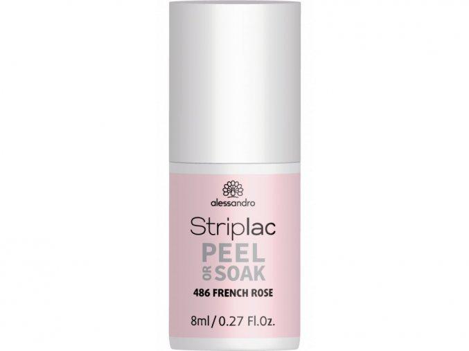 Striplac Peel or Soak FRENCH ROSE 5 ml