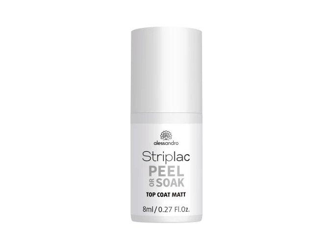 STRIPLAC Peel or Soak Top MATT 8 ml