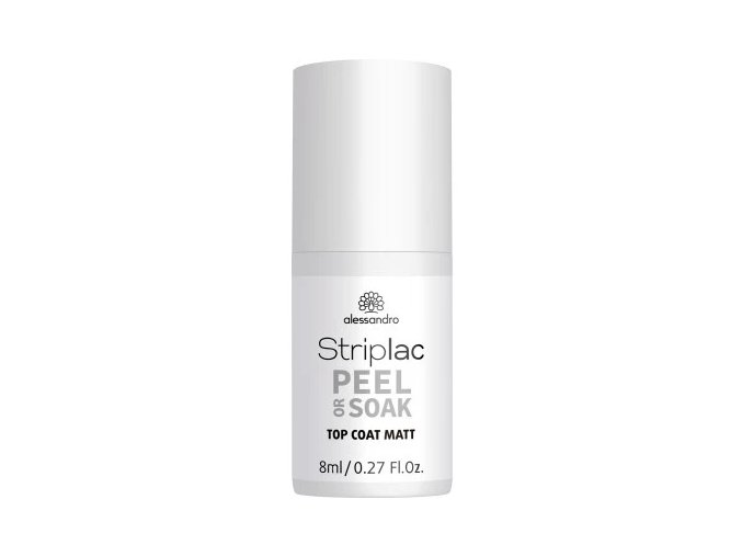 STRIPLAC Peel or Soak Top MATT 8 ml
