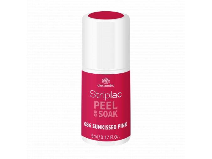 48 686 Sunkissed Pink Striplac Fake Heat Wave