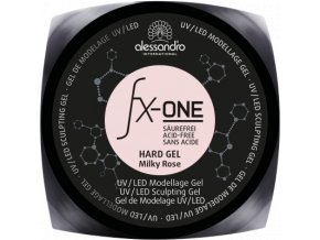 fx one hard gel milky rose d 3
