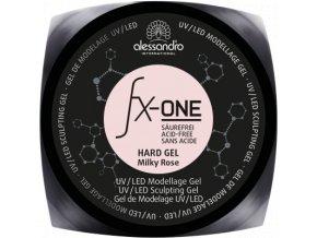 fx one hard gel milky rose d 3