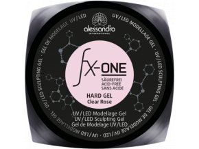 fx one hard gel claer rose d
