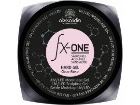 fx one hard gel claer rose d