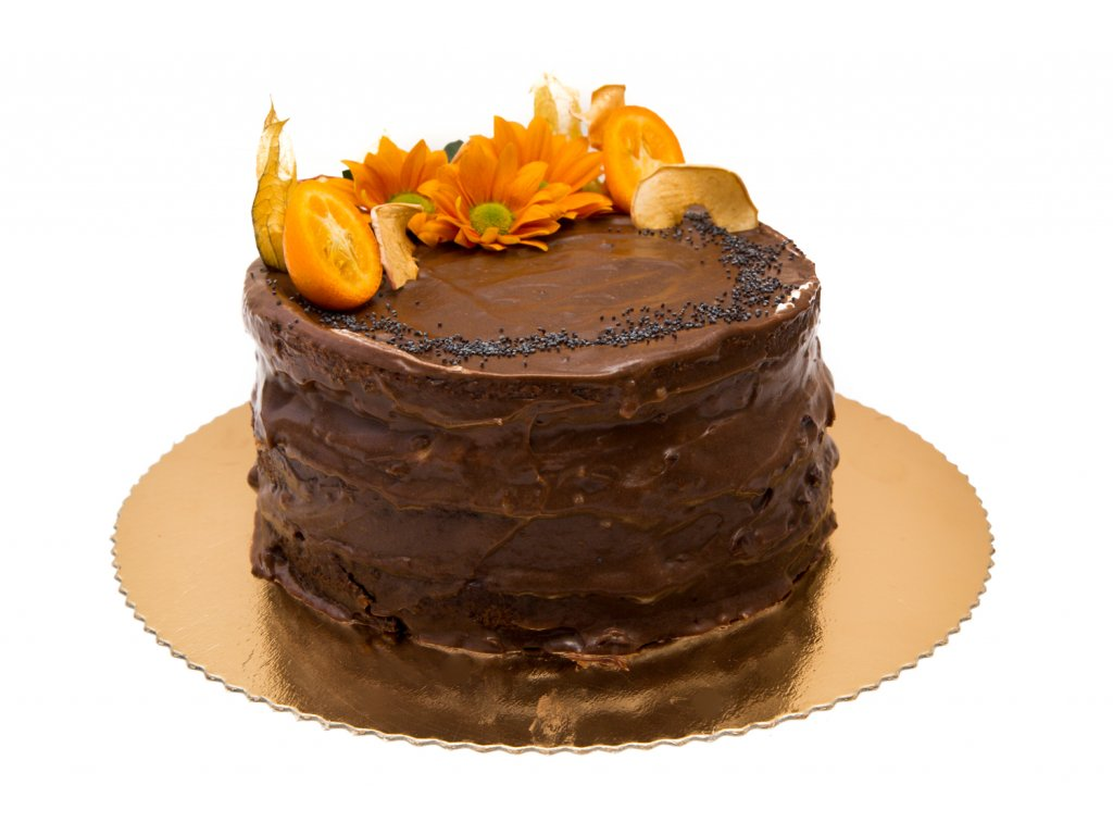 makovo nugátová torta