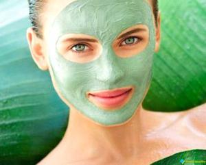 Tipy na masku ze zeleného jílu