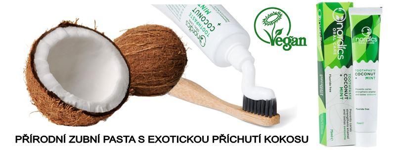 Přírodní pasta Nordics s kokosem