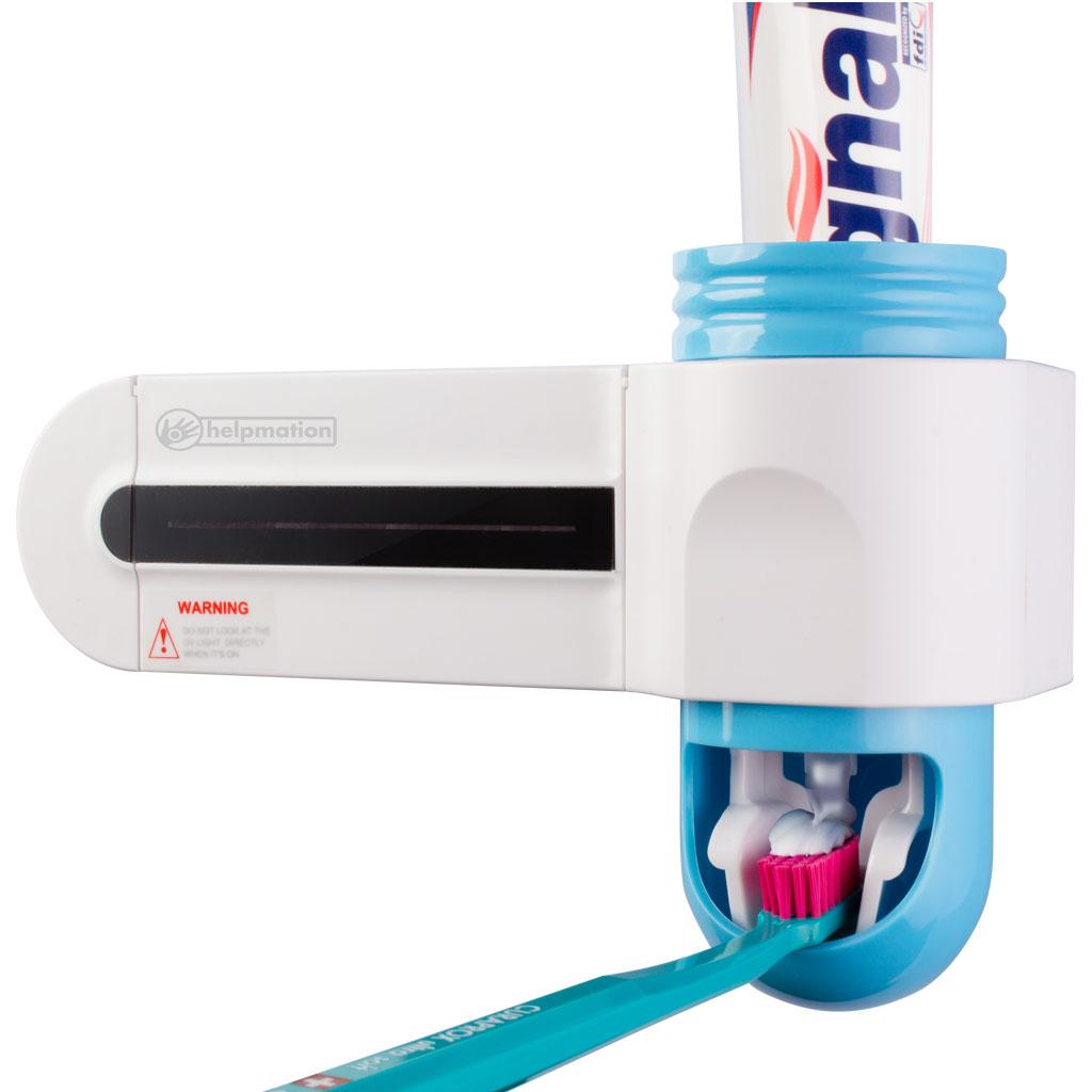Dávkovač zubní pasty s UV sanitizérem Helpmation GFS 302 www.alfadental.cz