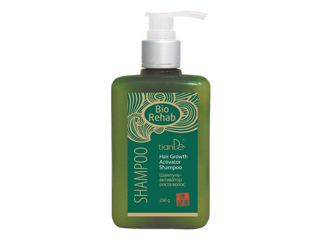 Šampon s aktivátorem růstu vlasů s extraktem zázvoru Bio Rehab