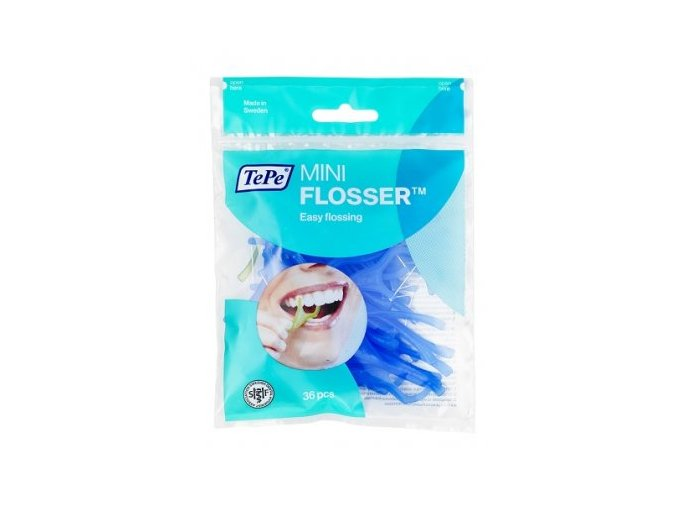 Zubní nit Tepe Mini Flosser v sáčku