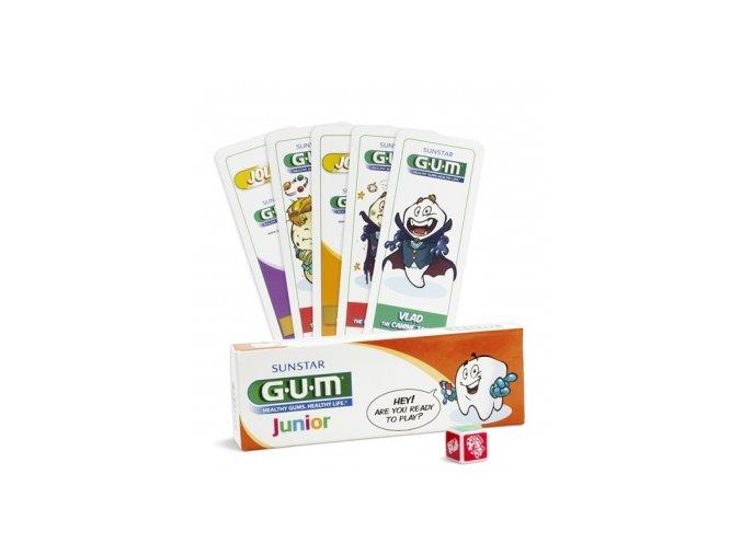 Dětský zubní gel GUM Junior pro školáky 7-12 let