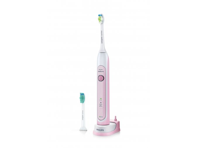 Sonický zubní kartáček Philips Sonicare HX6762/43 HealthyWhite Pink