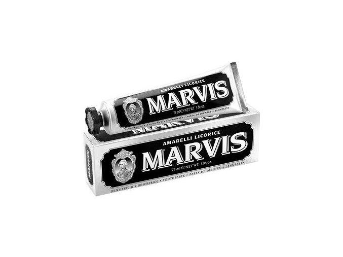 Zubní pasta bez fluoridu Marvis Amarelli Licorice 75 ml