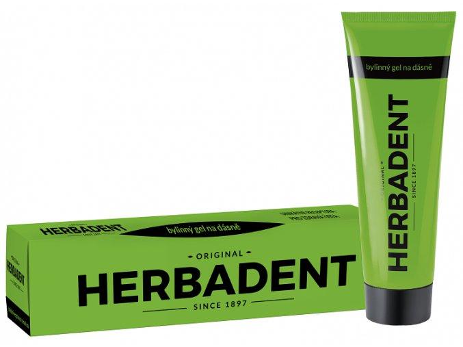 Bylinný gel Herbadent na dásně 25 g new