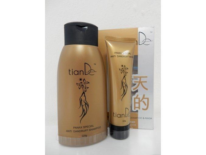 Šampon a maska s extraktem žen-šen