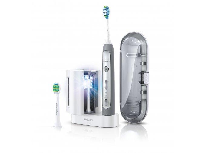 Philips Sonicare HX9172/14 FlexCare Platinum s tlakovým senzorem a UV sanitizérem