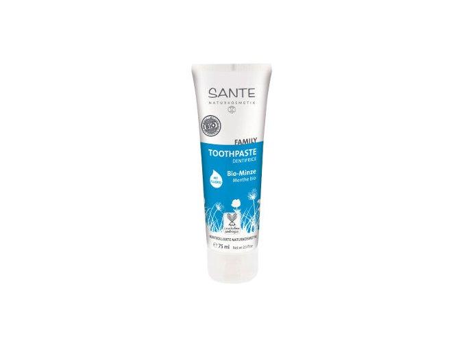 Zubní přírodní pasta Santé Family Bio Máta