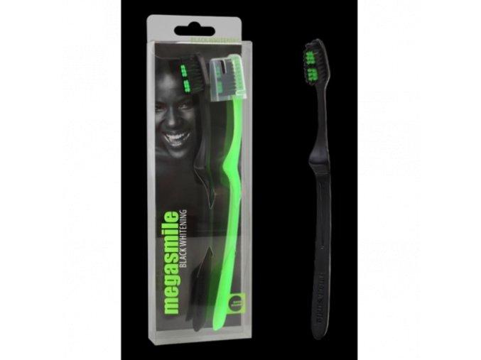 Zubní kartáček Megasmile Black Whitening Duopack