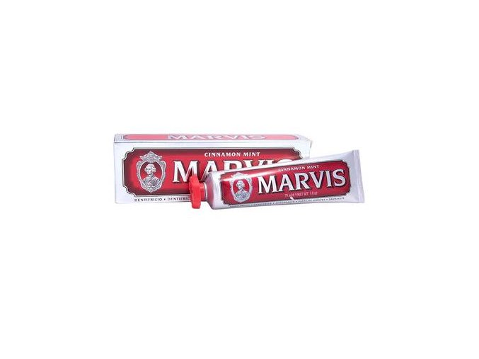 Zubní pasta bez fluoridu Marvis Cinnamon Mint 25 ml