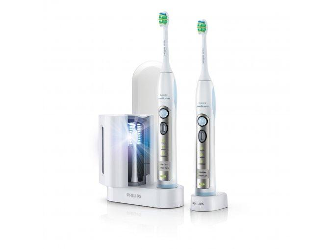 Philips Sonicare HX6932/36 FlexCare Deal Pack 1+1 s UV sanitizérem