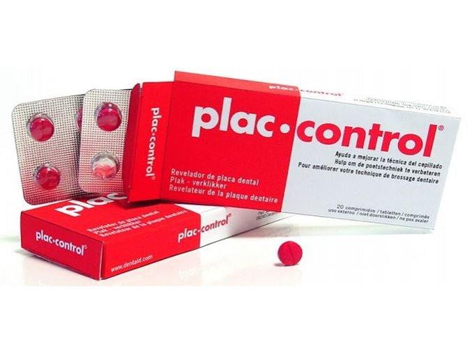 Plac Control tablety na identifikaci zubního plaku