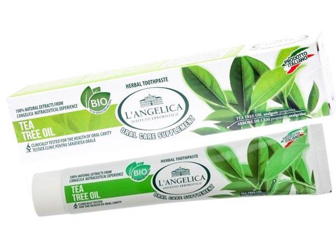 L´Angelica přírodní zubní pasta s Tea Tree