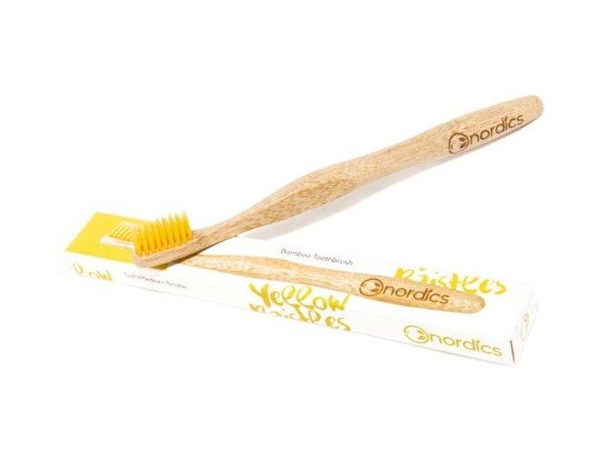 Bambusový zubní kartáček Nordic