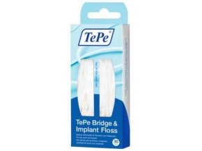 Zubní nit TePe Bridge & Implant Floss