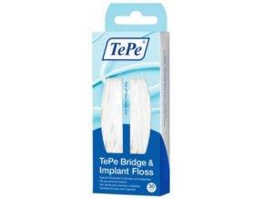 Zubní nit TePe Bridge & Implant Floss
