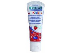 Dětský zubní gel GUM Kids pro předškoláky 2-6 let