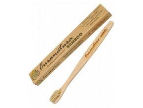 Bambusový přírodní kartáček Curanatura