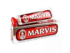 Zubní pasta bez fluoridu Marvis Cinnamon Mint 75 ml