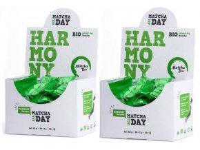 Zelený čaj v prášku Matcha Bio 2 ks
