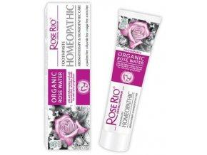 Homeopatická zubní pasta Rose Water