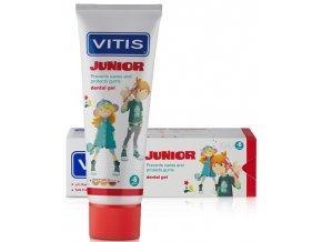Dětský zubní gel Vitis Junior Tutti Frutti
