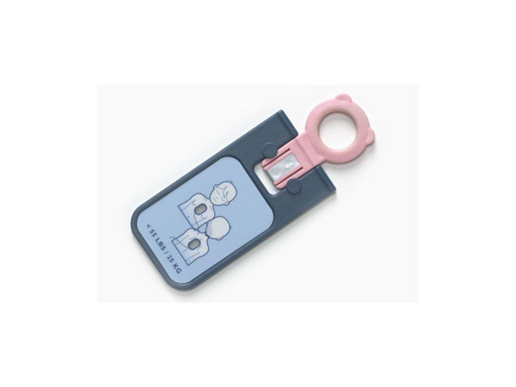 Klíč k defibrilaci dětí pro HeartStart FRx