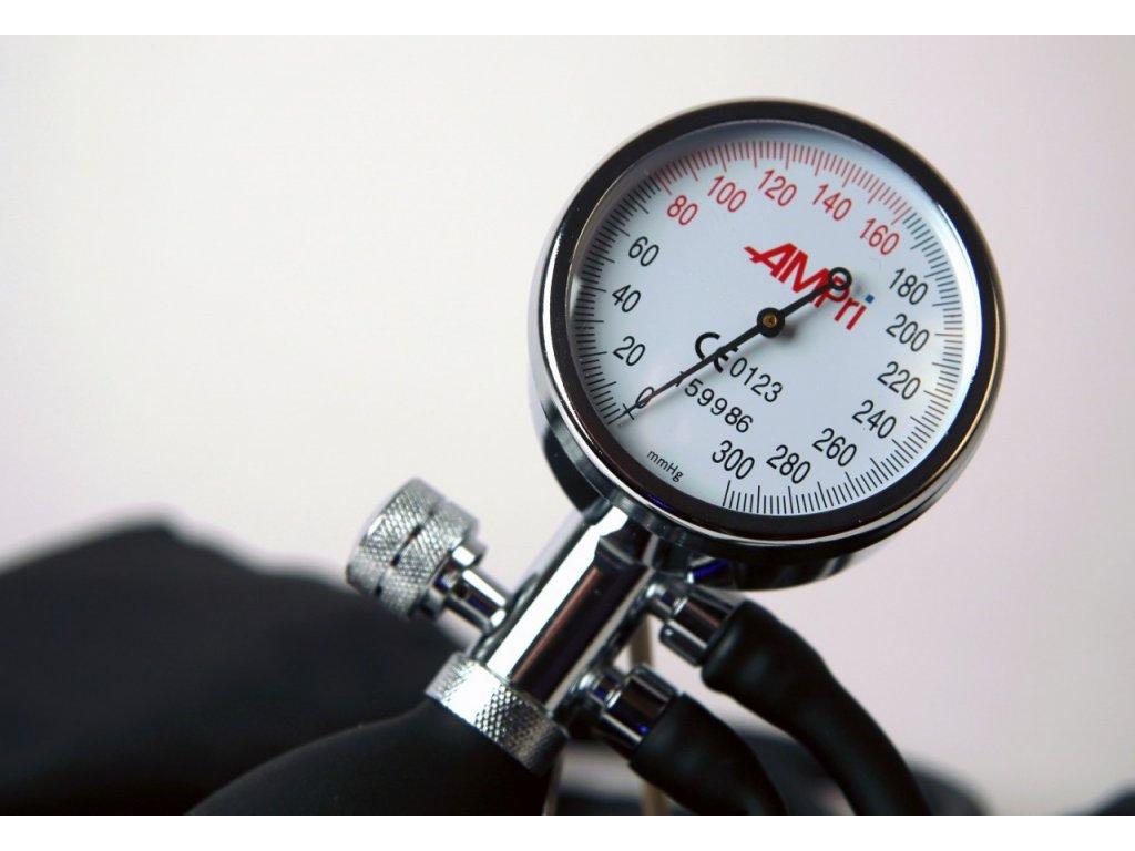 Manuální tonometr  - aneroidní tlakoměr Palm