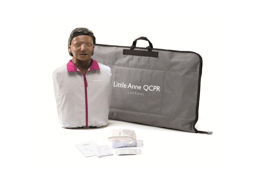 Little Anne QCPR resuscitační figurína dark