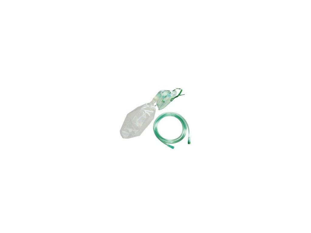 Maska kyslíková s koncentračním sáčekem pro děti
