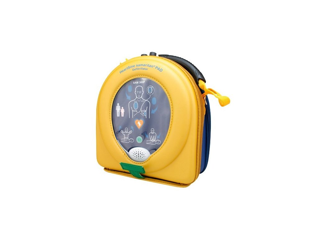 AED Defibrilátor HeartSine PAD 350P poloautomatický