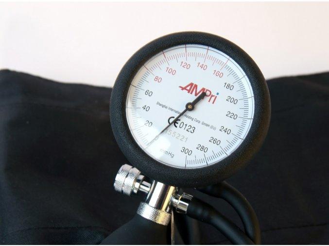 Manuální tonometr - aneroidní tlakoměr Palm Delux