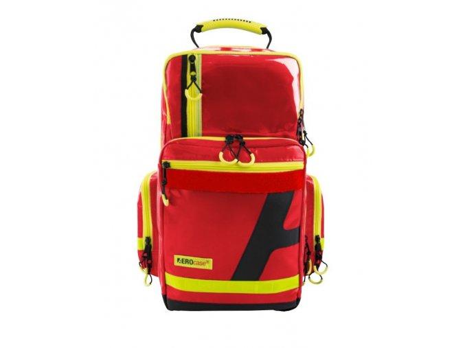 HUM AEROcase® - Pro1R PL1C - zdravotnický batoh - ČERVENÝ - PLANE