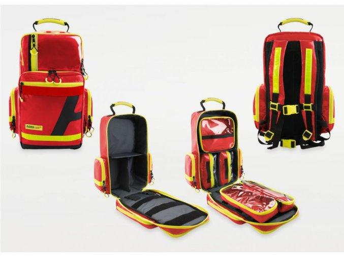 žlutý batoh