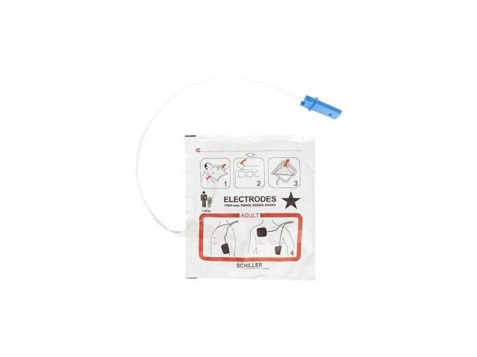 Schiller defibrilační/stimulační elektrody, pro dospělé