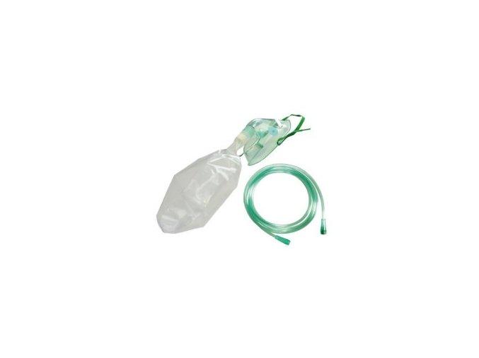 Maska kyslíková s koncentračním sáčkem pro dospělé