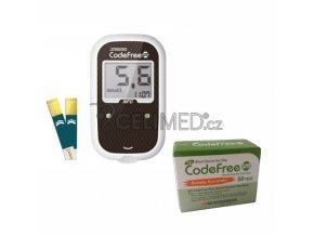 Glukometr SD-Codefree +50 proužků navíc