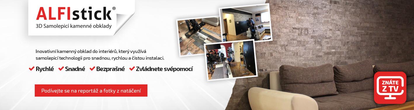 ALFIstick® TV reportáž
